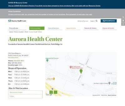 STD Testing at Aurora Health Center