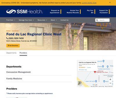 STD Testing at Fond Du Lac Agnesian Regional Clinic West