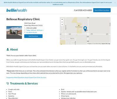 STD Testing at Bellin Health Urgent Care - Bellevue