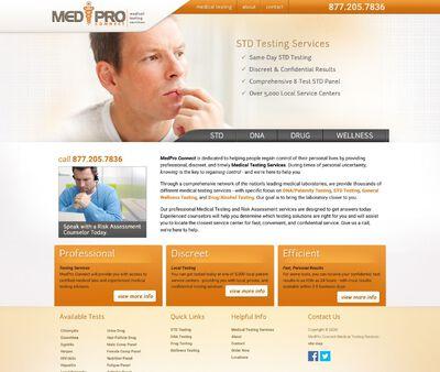 STD Testing at New Berlin, WI STD, DNA, Drug & Wellness Testing Center
