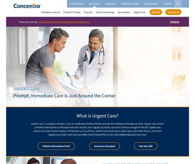 STD Testing at Concentra Urgent Care