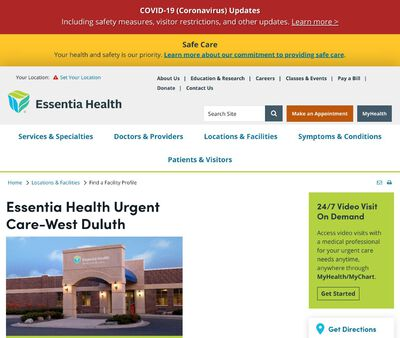 STD Testing at Essentia Health Urgent Care-West Duluth