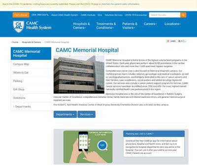 STD Testing at CAMC Memorial Hospital
